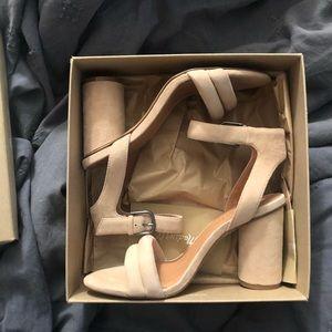Madewell block heel